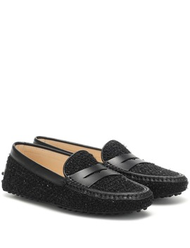 Gommino Tweed Loafers by Tod's