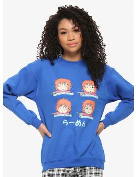 Studio Ghibli Ponyo Sleepy Ramen Girls Sweatshirt by Hot Topic