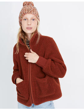 Polartec® Fleece Zip Up Jacket by Madewell