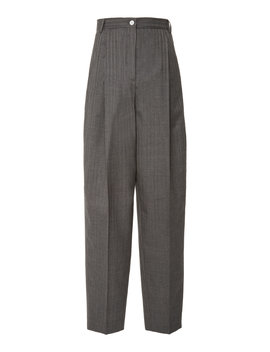 Peggerine Striped Wool Pants by Acne Studios