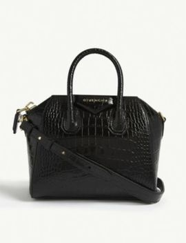 Antigona Leather Mini Tote by Givenchy