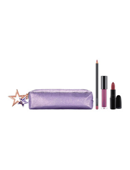 Starlit Lip Bag: Plum (Valued At $101) by M.A.C