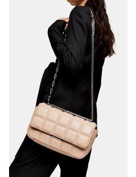 Sabrina Pink Quilted Shoulder Bag by Topshop