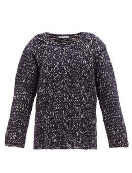 Berger Cable Knit Wool Sweater by Jacquemus