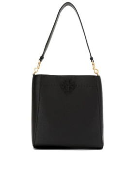 Pebbled Leather Shoulder Bag by Tory Burch