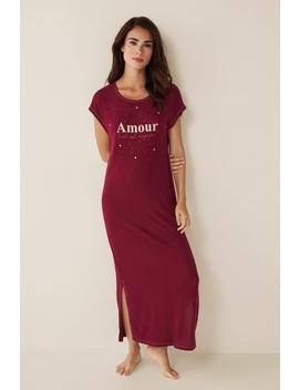 "Long ""Amour"" Nightgown by Women'secret"