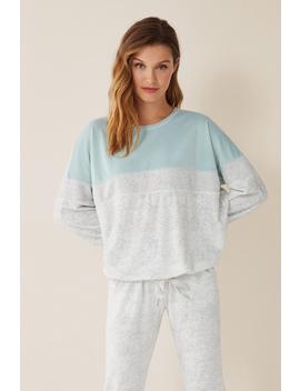 Three Textured Sweatshirt by Women'secret