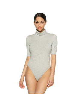 Women's Jezebel Velvet Touch Turtleneck Bodysuit 900218 by Jezebel