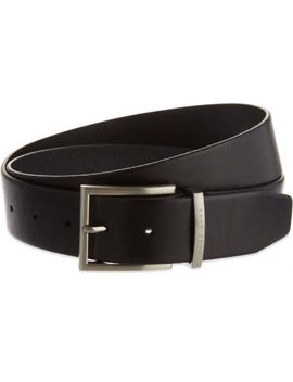 Leather Belt by Boss