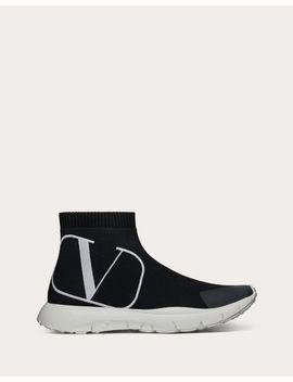 Vlogo Sock Sneaker by Valentino Garavani