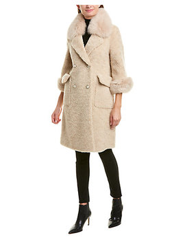 La Fiorentina Wool Coat by La Fiorentina