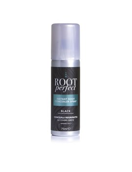 Root Perfect Black Regrowth Concealer Spray 75ml Root Perfect Black Regrowth Concealer Spray 75ml by Wilko