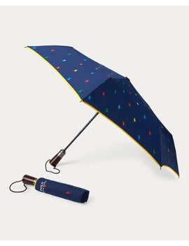 Polo Pony Collapsible Umbrella by Ralph Lauren