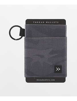 Thread Micah Black Key Ring Wallet by Thread Wallets