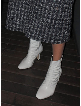 Ruched Ankle Boots by Stylenanda