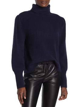 Swingy Rib Turtleneck Sweater by Frame Denim
