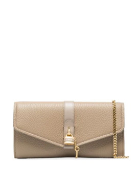 Aby Leather Clutch Bag by Chloé
