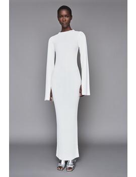 Celina Dress Winter White by Solace London