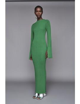Celina Dress Green by Solace London