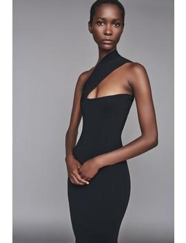 Vida Dress Black by Solace London