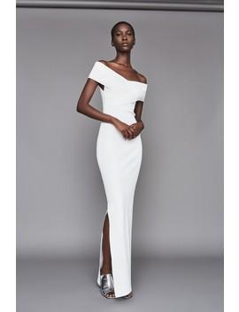Adina Dress Winter White by Solace London