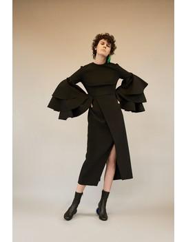 Minelli Dress Black by Solace London
