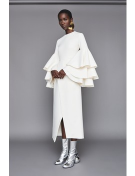 Minelli Dress Cream by Solace London