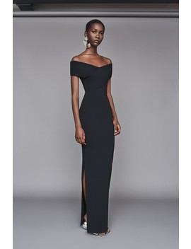 Adina Dress Black by Solace London