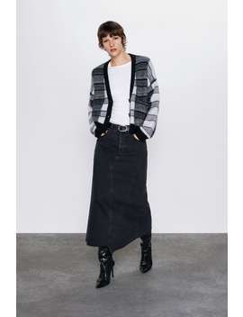 Limited Edition Check Cardigan by Zara