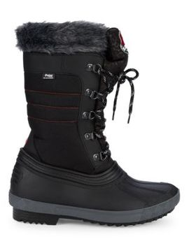 Doris Faux Fur Lined Winter Boots by Pajar Canada