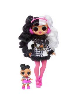 Lol Surprise Omg Winter Disco Dollie Fashion Doll & Sister921/8532 by Argos