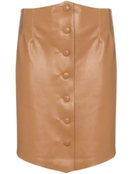 Sils Buttoned Mini Skirt by Nanushka