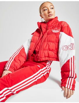 Adidas Originals Spirit Crop Padded Jacket by Jd Sports