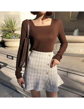 Luxurious Button Frill Skirt by Chuu