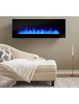 Real Flame® Di Natale Electric Wall Fireplace by Pottery Barn