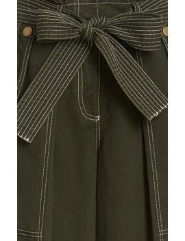 Bronte Cotton Trouser by Ulla Johnson