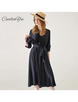 Spring And Summer Of 2019 Dress Office/Vintage/Floral/Maxi Dresses For Summer Women Casual Ceciliayu New Design by Ali Express.Com