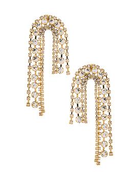 Arch Chain Earrings In Gold by Ettika