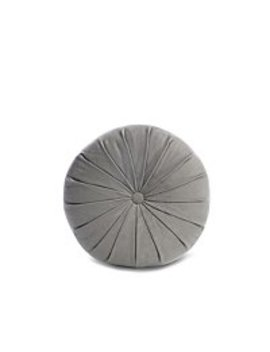 Grey Pinwheel Cushion by Asda