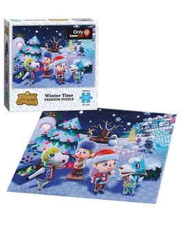 Animal Crossing Winter Puzzle Only At Gamestop by Us Aopoly, Inc