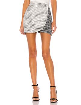 Lennon Side Zip Mini Skirt by Alice + Olivia