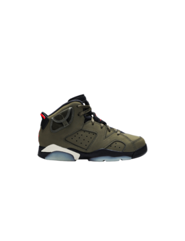 Travis Scott X Air Jordan 6 Retro Ps 'olive' by Brand Air Jordan