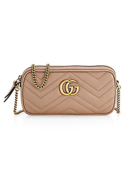 Gg Marmont Matelassé Leather Mini Bag by Gucci