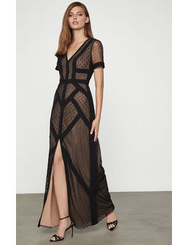 Diamond Tulle Dotted Dress by Bcbgmaxazria