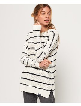 Elsie Slouch Crew Knit Jumper by Superdry