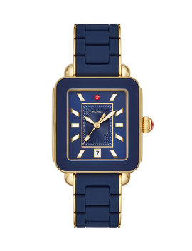 Deco Sport Bracelet Watch In Navy by Michele