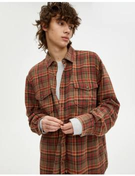 Geruit Overhemd Met Zakken by Pull & Bear