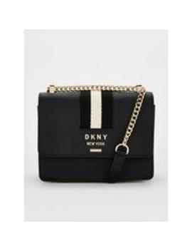 Liza Small Shoulder Flap   Black by Dkny