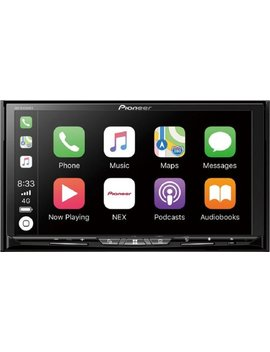 """6.94""""   Android Auto/Apple Car Play™   Bluetooth   In Dash Cd/Dvd Receiver   Black by Pioneer"""