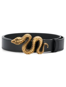 Serpent Buckle Belt by Roberto Cavalli